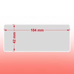 42 x 104 mm ablakos boríték (0)
